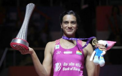 P.V.  Sindhu – The Lively Badminton Player