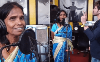 Ranu Mondal – The Sensation Who Records her First Song with Himesh Reshammiya