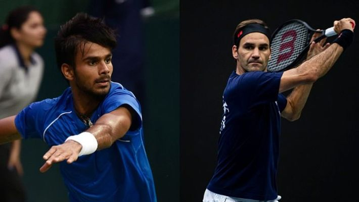 Sumit Nagal vs Roger Federer